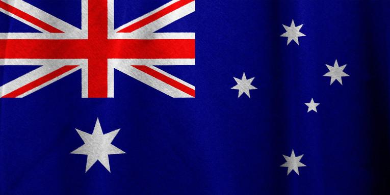 Australian Fabric Flag