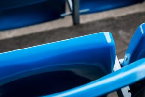 Blue Stadium Seat