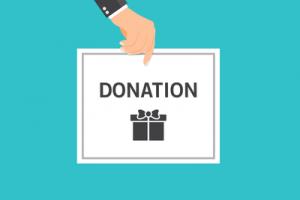 Charity Donation Card