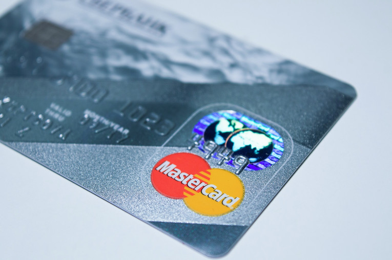 Grey Credit Card