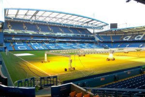 Stamford Bridge with Pitch Lamps