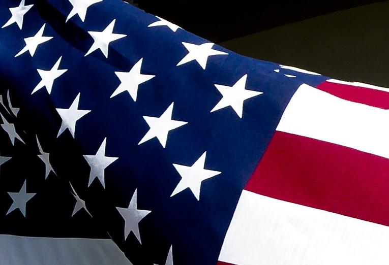 USA Fabric Flag