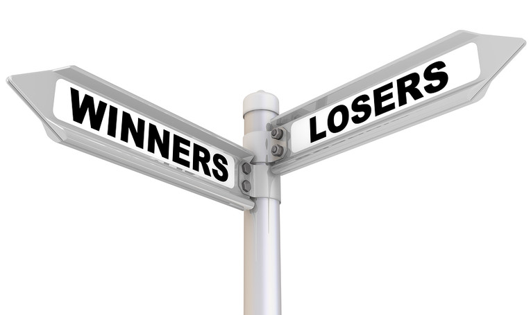 Winners and Losers Signpost