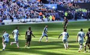 Manchester City Game at the Etihad Stadium