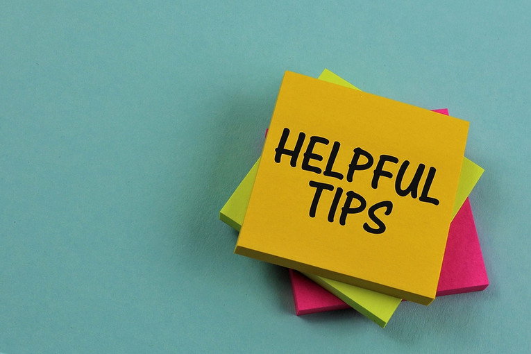 Helpful Tips Post It Notes