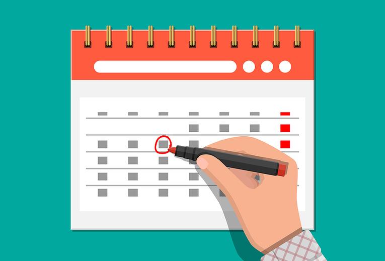 Marking Date on Calendar