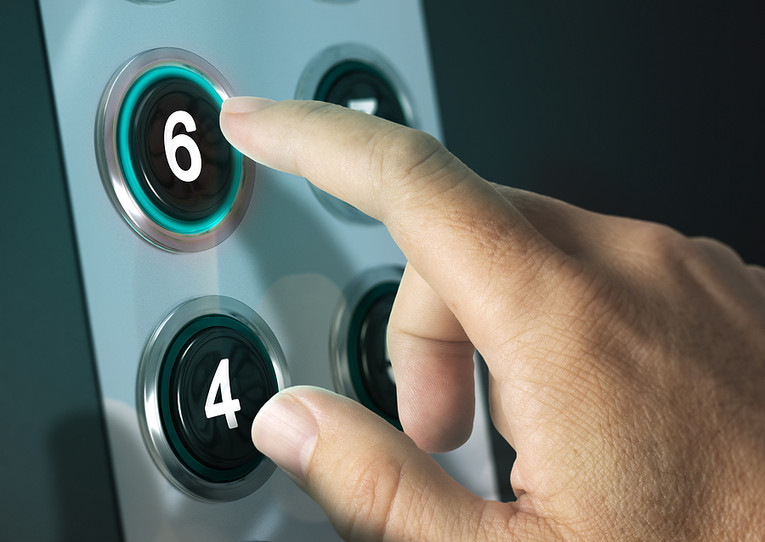 Pressing Number 6 Button