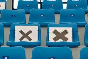 Stadium Seats with Crosses