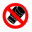 No Boxing Sign