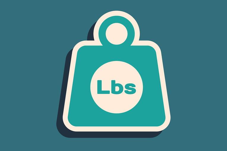 Pounds Weight Logo