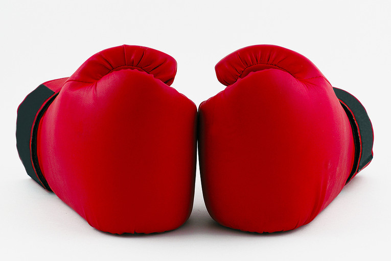 Red Boxing Gloves 765px