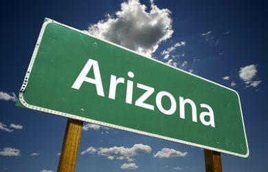 Arizona Road Sign