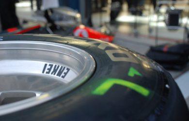 Formula 1 Car Wheel