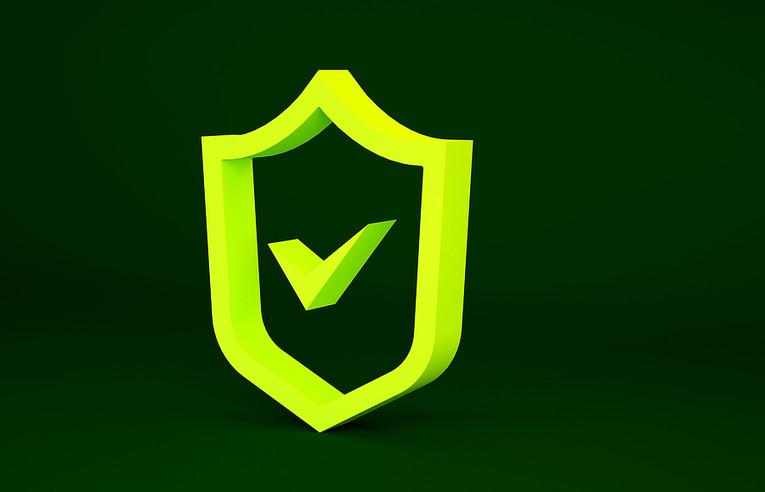 Shield and Check Mark
