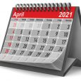 April 2021 Desktop Calendar