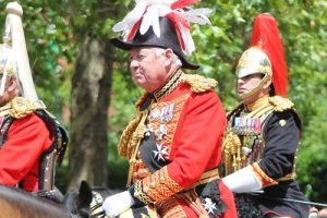 Lord Vestey Trooping the Colour