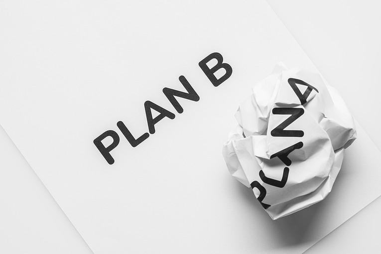 Plan B on Paper