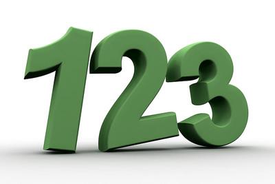 Green 3D 123