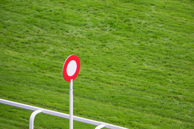 Horse Race Finishing Post