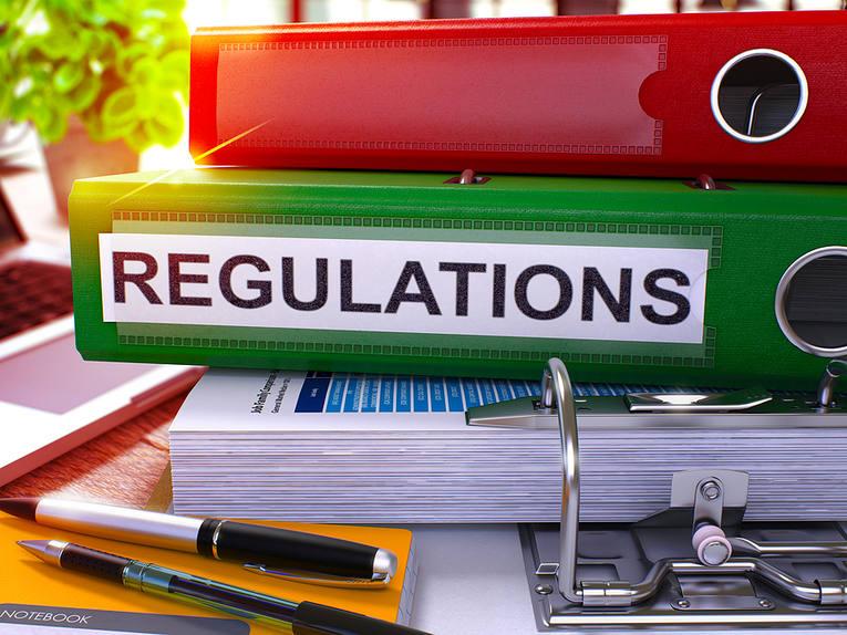 Regulations Green Folder