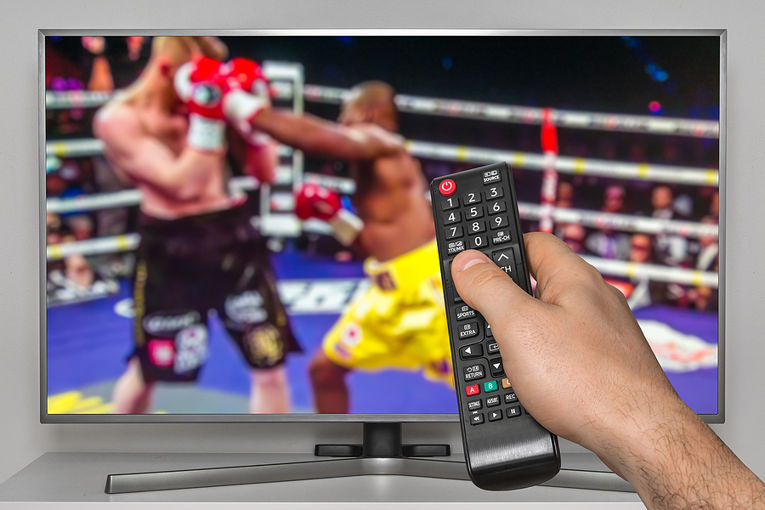 Boxing on TV