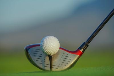 Golf Driver Close Up