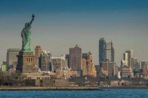 New York with Statue of Liberty