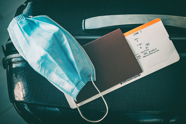 Face Mask and Travel Documents