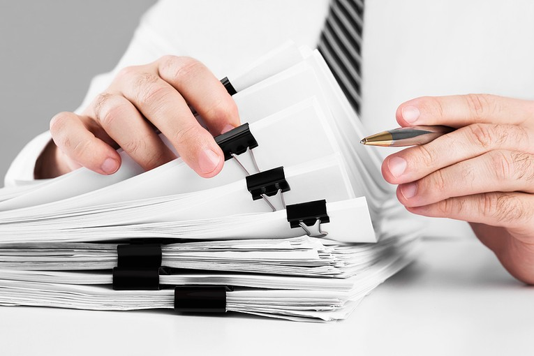 Accountant and Documents