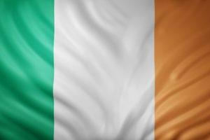 Irish Silk Flag