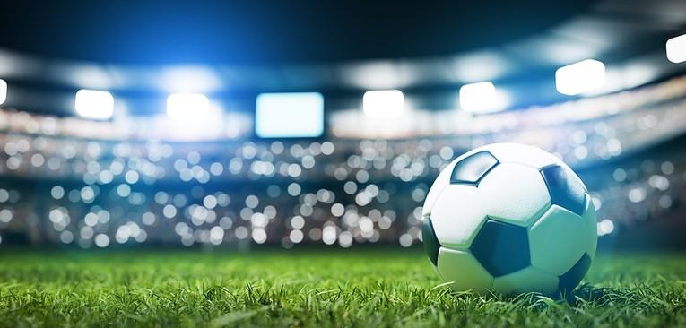Football Match Under Lights